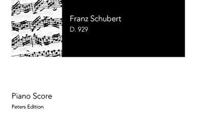 31 juillet 2008 Piano Trio in E-flat major, D.929