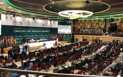 27 Jul 2020 WORLD BANK  African Continental Free Trade Area (AfCFTA) could boost Africa's income