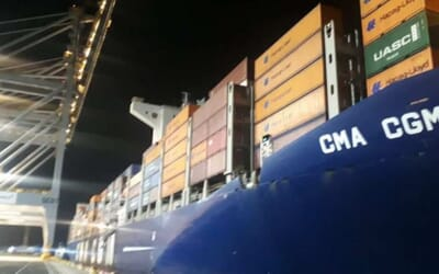 30 jun 2021 CMA CGM omits Le Havre in regard of the North European congestion for 3 months